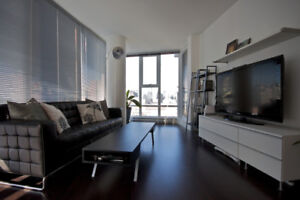 Amazing fully furnished 2bed 2bath + den. Downtown Vancouver