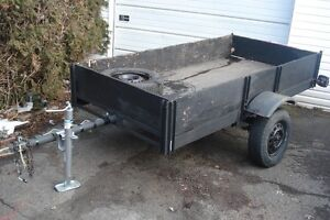 old trailer 4x8  remorque