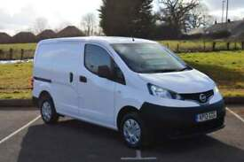 2013 NISSAN NV200 1.5 dCi SETurbo Diesel Van LOW MILEAGE NO VAT