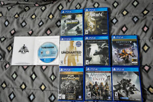 Jeux ps4 comme neuf