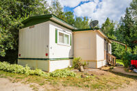 Salmon Arm - Affordable MH in a quiet, rural MHP