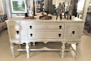 BUFFET SIDEBOARD, HAND PAINTED, AVAILABLE AT THE PIGGERY GALLERY