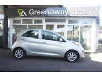 2012 KIA PICANTO 2 1 OWNER LOW MILES HATCHBACK PETROL