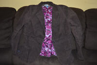 Old Navy brown cords Maternity jacket - Size Large