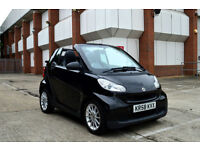 2008 58 SMART FORTWO ECO PASSION CONVERTIBLE 1.0 AUTOMATIC CABRIOLET PX SWAP