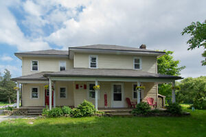 Large Country home with outbuildings, Greater Napanee