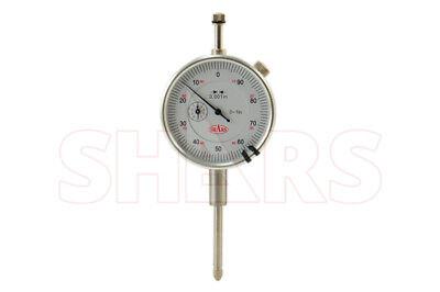 Shars 1 Dial Indicator .001 Long Stem Agd2 Standards For Depth Gage Base New