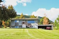 Own a home in the mild weather Kootenays