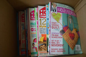 Great Collection of HGTV magazines - home decor