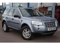 2008 LAND ROVER FREELANDER 2.2 Td4 XS BT, LEATHER and ALLOYS