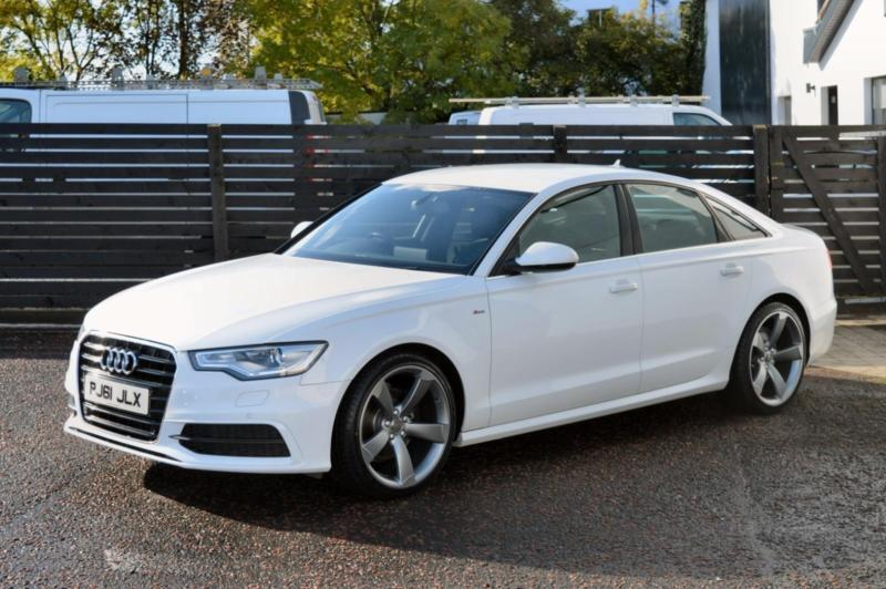 2012 audi a6 s line saloon ibis white 177 fash 2 keys passat a4 520d 530d a5 in ballymoney. Black Bedroom Furniture Sets. Home Design Ideas