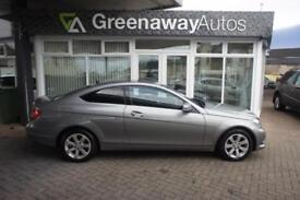 2013 MERCEDES C-CLASS C220 CDI BLUEEFFICIENCY EXECUTIVE SE FULL LEATHER COUPE D
