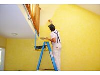SHORT-NOTICE PAINTERS AND DECORATORS RELIABLE AND PROFESSIONAL