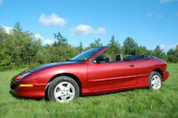 REDUCED 1996 Pontiac Sunfire se Convertible