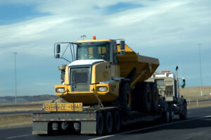 Heavy equipment and farm equipment trucking services