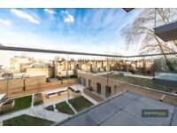 * ONE BED PENTHOUSE APARTMENT * Luxury One Double Bed Flat with a Balcony in Hammersmith W6 Zone 2