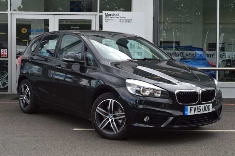 2015 bmw 2 series f45 220d xdrive sport active tourer b47 2 0 diesel black manua in scunthorpe. Black Bedroom Furniture Sets. Home Design Ideas