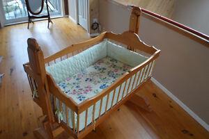Heirloom Handmade Cradle