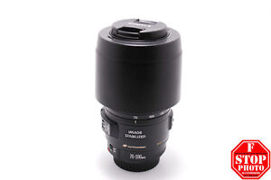 Canon EF 70-300mm f4-5.6 IS USM with Hood