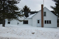 House with 12 Acres, possible hobby farm