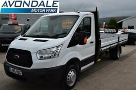 2016 FORD TRANSIT 350 L5 EXTRA LONG WHEEL BSE 17 FT BED RARE VAN DROPSIDE PERFE