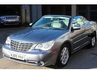 2009 CHRYSLER SEBRING 2.7 V6 Limited AUTOMATIC CONVERTIBLE