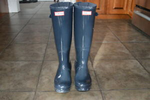 Authentic Hunter Boots - Navy