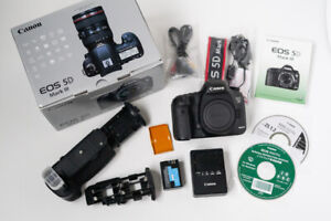 Canon EOS 5D Mark III and battery grip in retail box