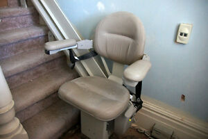 "A Lightly Used/Newer Elite ""Bruno"" Stair Lift for Sale Peterborough Peterborough Area image 1"