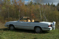 Classic Chrysler LeBaron with rare continental tire