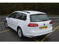 2015 Volkswagen Golf Estate SE 1.4 TSI 122 PS 6-speed Manual Petrol white Manual