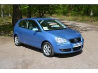 2008 VOLKSWAGEN POLO 1.4 Match 80 3dr Auto ONLY 19,000 MILES