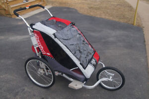 Chariot Cougar 2 Running Stroller with Baby Support Kit