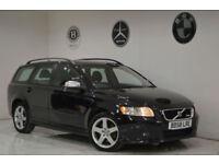 2009 Volvo V50 2.0D Powershift R-Design Sport+FSH+2 KEYS+YEAR MOT+BARGAIN+PX+