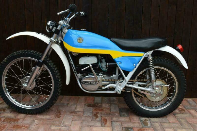 Bultaco Alpine 350 1974, Exceptional restoration, classic  Trails/mx,Twinshock | in Wisbech, Cambridgeshire | Gumtree