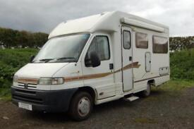 Autocruise Star Spirit 2 berth low profile motorhome with rear lounge