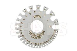 Sheet metal gauge ebay spring steel wire sheet metal gage for ferrous metal 036 keyboard keysfo Image collections
