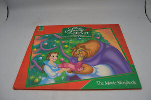 Disney-Beauty and the Beast Enchanted Christmas-Movie Storybook London Ontario image 1