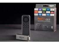 Amazon firestick loaded with all movies and to channels