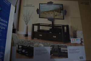 Whalen Carillo TV stand- with tv wall mount brand new in box!! Kitchener / Waterloo Kitchener Area image 2