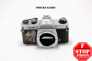 Pentax K1000 Film Camera Body (as is)