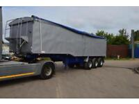 WILCOX BULK TIPPING TRAILER