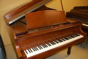 Grand piano too grand? Store here and free up room!
