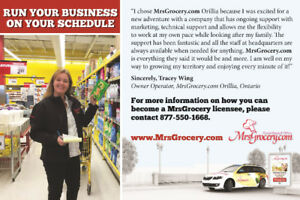 Own and Operate the MrsGrocery.com Business in Williams Lake