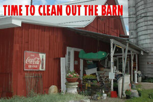 Time to Clean Out The Barn ?