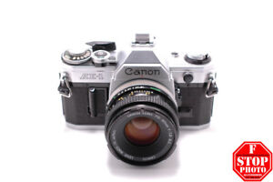Canon AE-1 with Canon FD 50mm f1.8 Lens