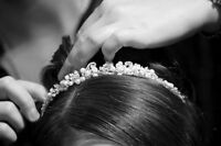 Bridal Updos and Makeup at Vibrant Salon & Spa