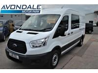 2015 FORD TRANSIT 350 LWB WELFARE UTILITY MESSING VAN WITH TOILET 7 SEATS MPV (
