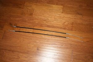 "1 pair new Parking Brake Cables - 39"" Classic Ford and others"