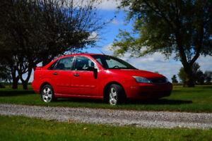 2007 Ford Focus SES ZX5 Sedan * ALBERTA CAR *